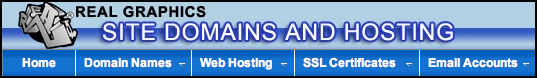 Web Hosting and Domain Names by RealGraphics